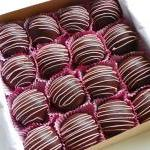 Strawberry Cake Truffles
